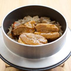 豚角煮の釜めし
