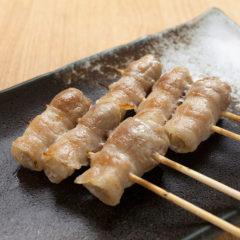 新生姜の豚巻き
